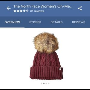 The North Face Mega Pom Beanie